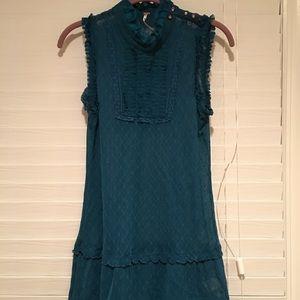 Free people blouse dress lace
